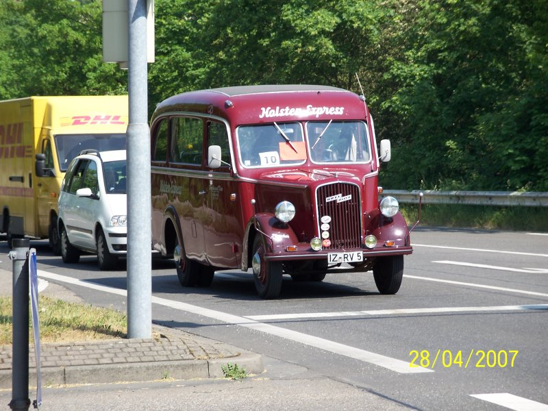 1939 Opel Blitz 1,5 to in Speyer.