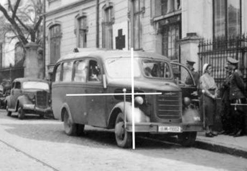 1939 Opel Blitzbus 93 Auwärter