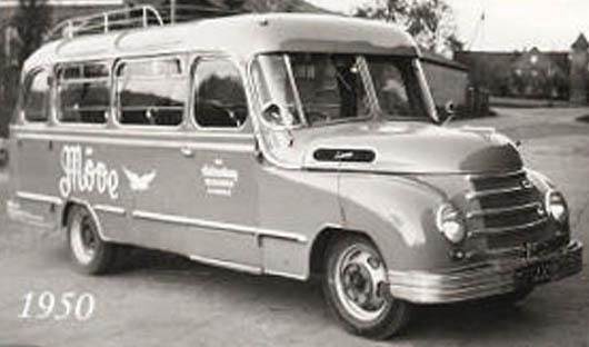 1939 Opel Blitzbus 95 Moeve