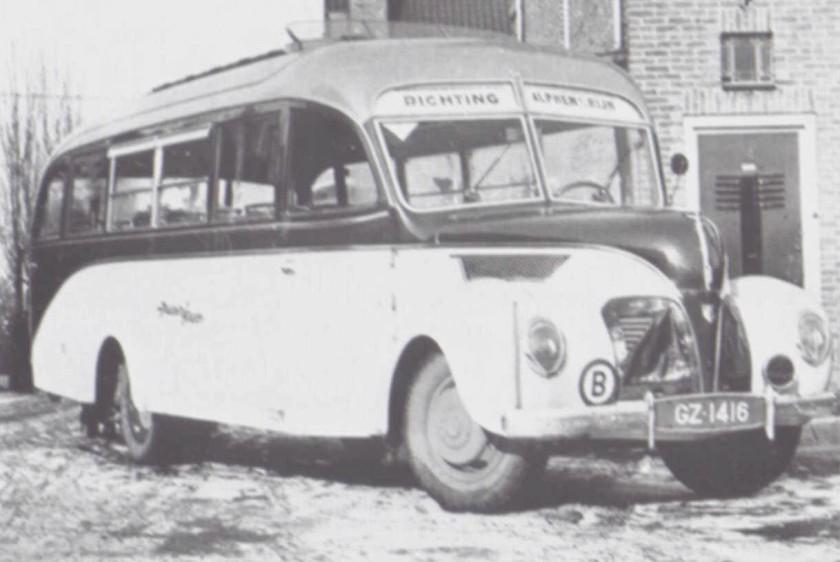 1940 Opel Blitzbus 51 verheul-maarse n-kroone
