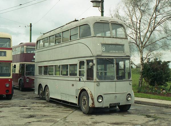 1942 AEC664T with Northern Counties H38-32R bodywork