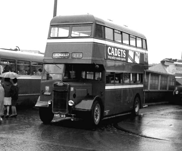 1943 Northern Counties H30-26R bodied Guy Arab II