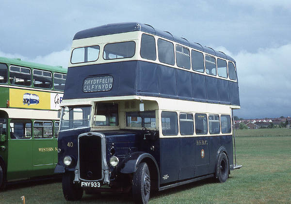 1944 Bristol K6A with Park Royal body