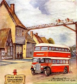 1945 Park Royal Coachworks Ad