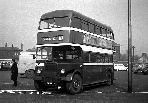 1947 Leyland PD1-2 with Northern Counties H30-26R body