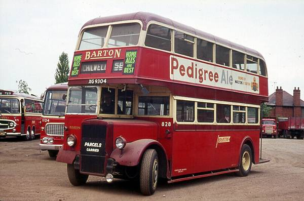 1947 Leyland PD1s with Northern Counties L27-26R bodi