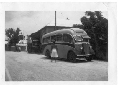 1947 Morris bus in St Georges