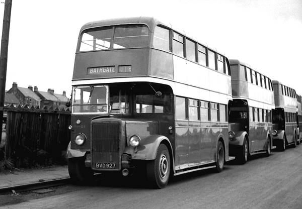 1947 Northern Counties L27-26R bodied Leyland PD1