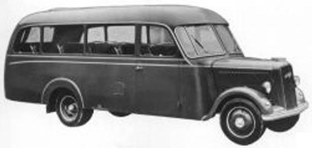 1947 Opel Blitzbus 94 postwar-factory
