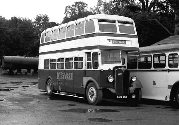 1947 Park Royal L24-26R bodied AEC Regent II