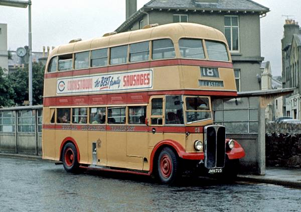 1948 AEC Regent III with Northern Counties body.