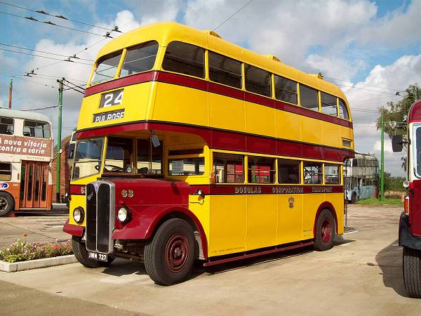 1948 AEC Regent III with Northern Counties H30-26R bodywork