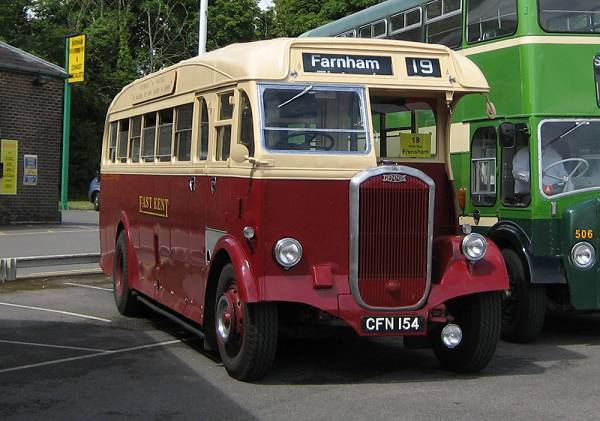 1948 Dennis Lancet III with Park Royal body