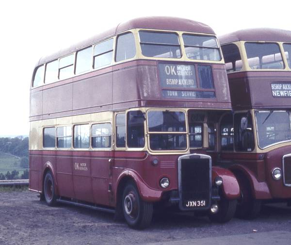 1948 Leyland 7RT with Park Royal H30-26R bodywork