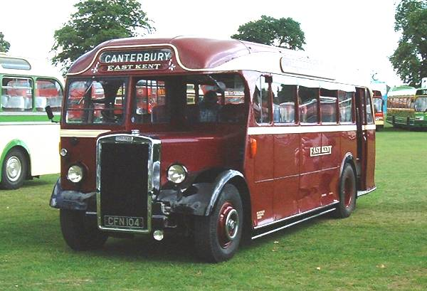 1948 Leyland Tiger PS1-1 CFN104 with a 32 seat Park Royal coach body