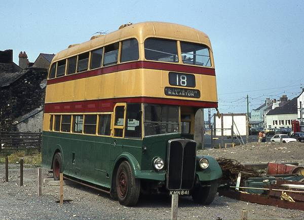1949 AEC Regent III with Northern Counties H30-25R bodywork
