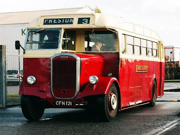 1949 Dennis Lancet with Park Royal single deck body