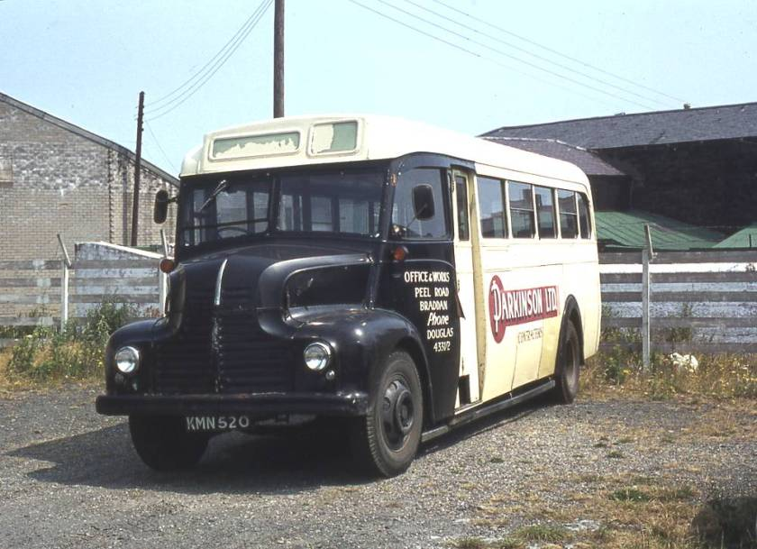 1949 Leyland Comet CPO1 with Park Royal B30F bodywork