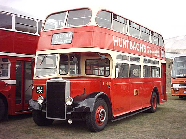 1949 Leyland OPD2-1 with a 1951 Northern Counties body fitted in 1954