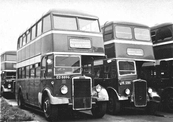 1949 Leyland PD2-3 with Park Royal body