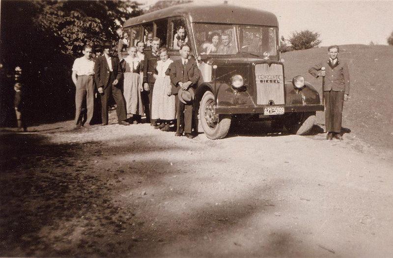 1949 Man Diesel Ottenbacher autohaus