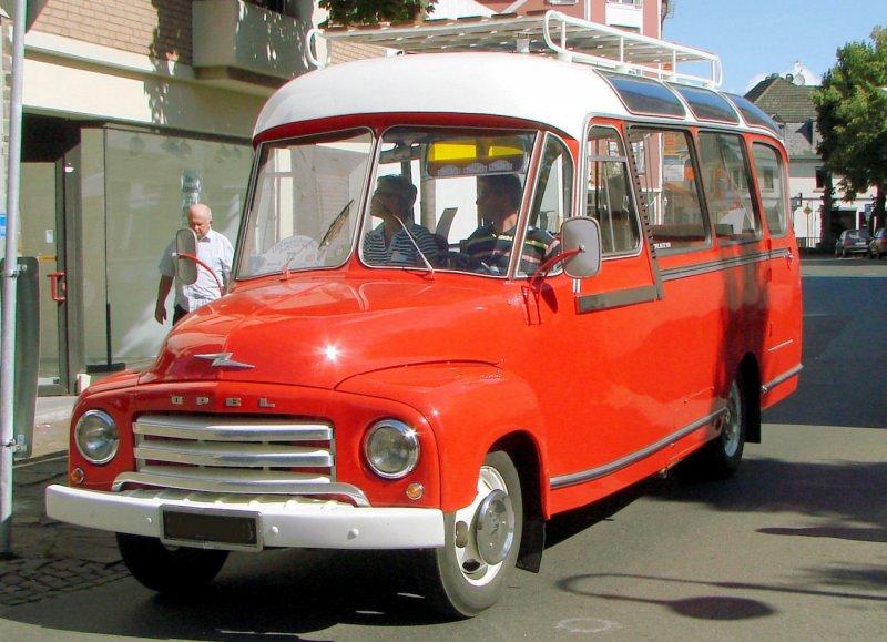 1949 Opel Oldtimer-Kleinbus