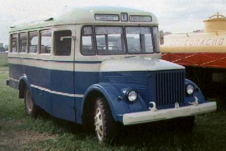 1950-71 PAZ 651 20s 4x2