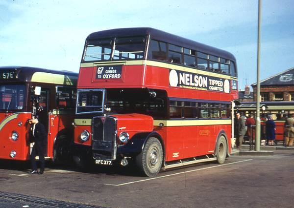1950 A.E.C. 9612A Regent III with a Park Royal L26-26R body