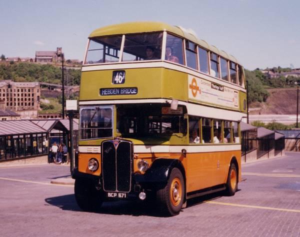 1950 AEC Regent III Park Royal H33-26R