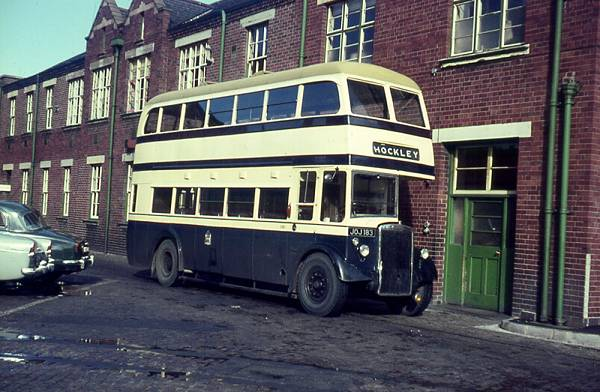 1950 Leyland PD2-1 with Park Royal H29-25R body