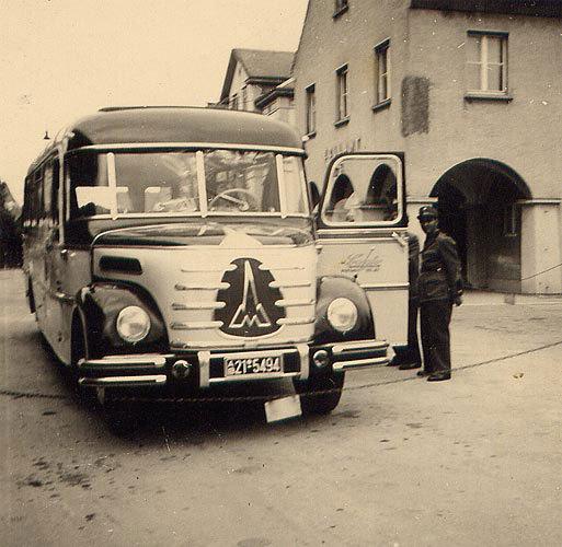 1950 Magirus Deutz Omnibus Anfang 1950 mit Ottenbacher Carr.
