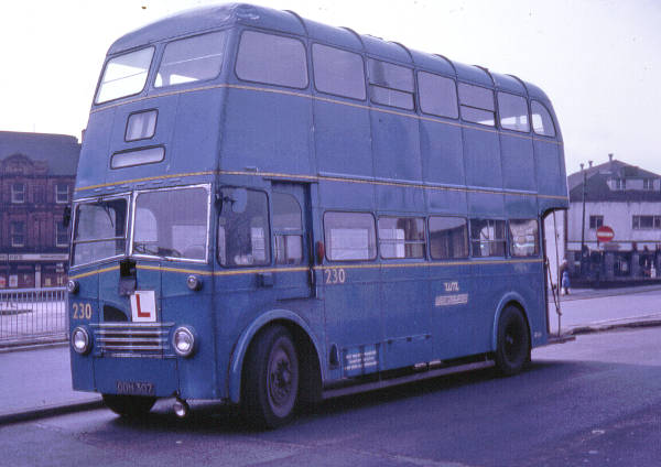 1951 Guy Arab III 6LW with Park Royal FH30-26R bodywork