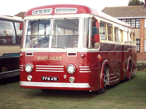 1951 Leyland Royal Tiger PSU1-15 with Park Royal C37C body