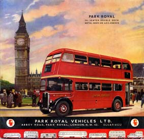 1951 Park Royal Ad