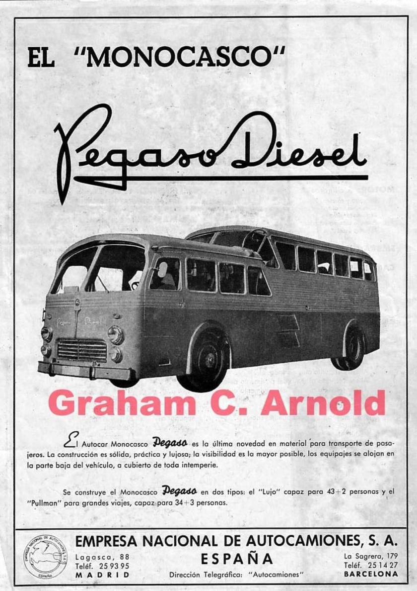 1951 PEGASO El Monogasco