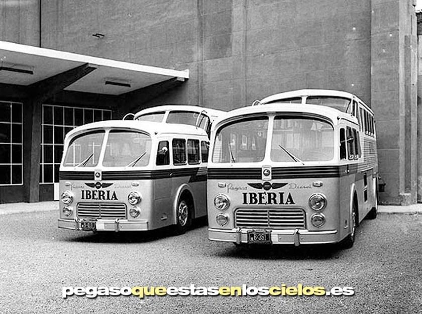 1951 Pegaso Monocasco El Pegasín de los Autocares