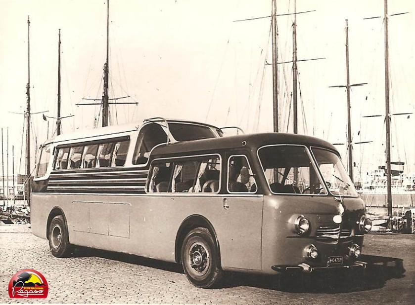 1951 Pegaso Monocasco segunda serie. Tenía 140 CV y 32 plazas