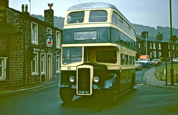1952 Daimler CVD6DD with a Northern Counties H36-28R body