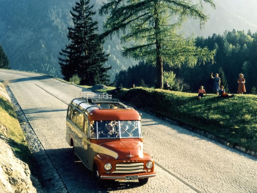 1952 Opel Biltz Omnibus, sd