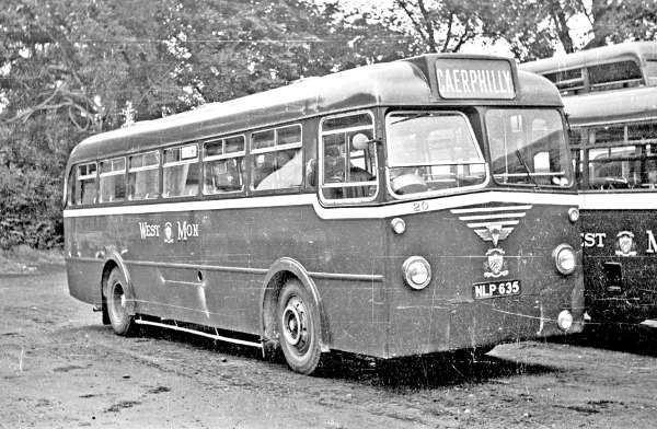 1953 AEC Monocoach with Park Royal B45F body