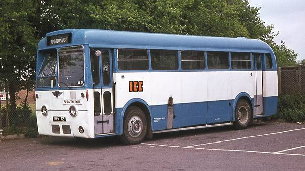 1953 AEC Regal IV with Park Royal B40D body