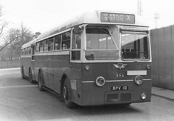 1953 AEC Regal IV with Park Royal B42D body