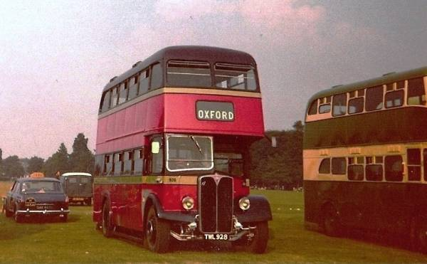 1953 AEC Regent III with Park Royal bodywork