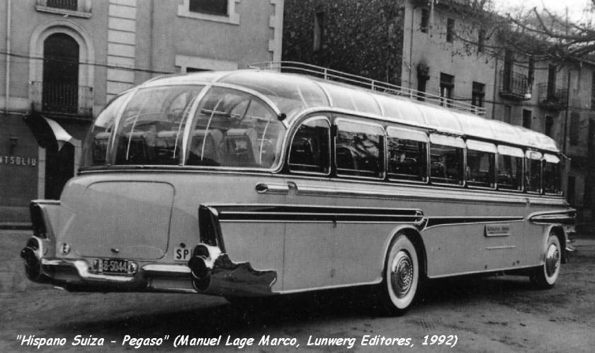 1953 Hispano Suiza Pegaso Ayats Sp
