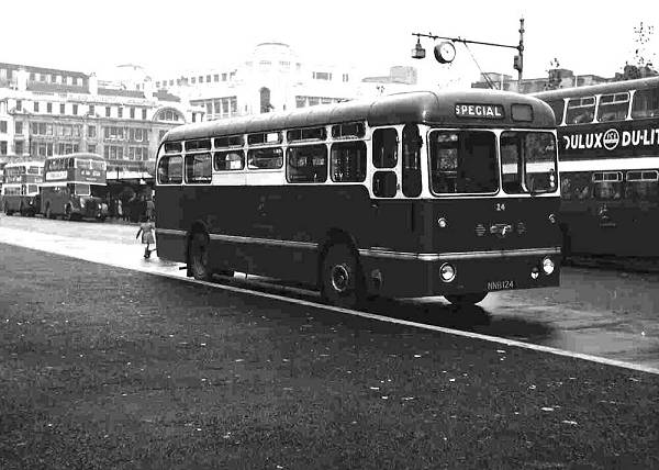 1953 Leyland PSU1-13 with Northern Counties B33C body