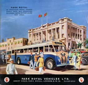 1953 Park Royal Ad