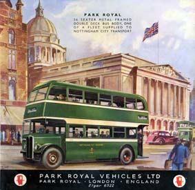 1953 Park Royal Veh LTD Ad