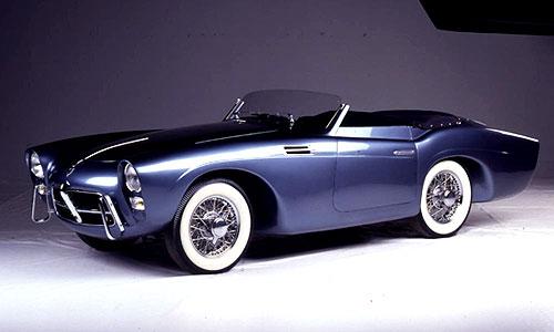 1953 Pegaso Thrill, en el articulo de cochesconhistoria podreis encontrarmas información de él.