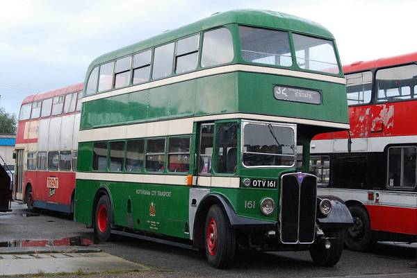 1954 AEC Regent III with a Park Royal body a