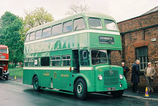 1954 Atkinson PD746 double decker with Northern Counties H35-25C body